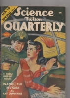 Image for Science Fiction Quarterly Spring 1943.