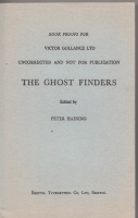 Image for The Ghost Finders: Tales Of Some Famous Phantoms.