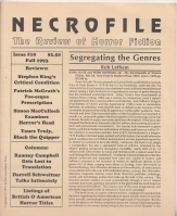 Image for Necrofile: The Review Of Horror Fiction no 10.