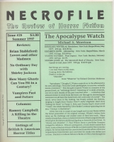 Image for Necrofile: The Review Of Horror Fiction no 25.
