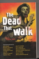 Image for The Dead That Walk: Zombie Stories (signed by contributor Mark Samuels)).