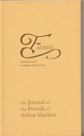 Image for Faunus: The Journal Of The Friends Of Arthur Machen no 26.