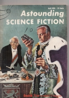Image for Astounding Science Fiction (April 1956).