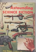 Image for Astounding Science Fiction (June 1955).
