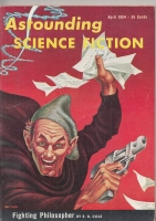 Image for Astounding Science Fiction (April 1954).