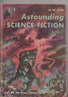 Image for Astounding Science Fiction (April 1957).