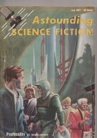 Image for Astounding Science Fiction (July 1957).