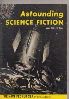 Image for Astounding Science Fiction (August 1958).