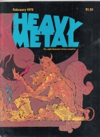 Image for Heavy Metal Magazine, February 1978 issue.