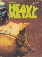 Image for Heavy Metal Magazine, March 1978 issue.
