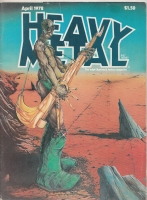 Image for Heavy Metal Magazine, April 1978 issue.