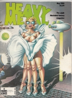 Image for Heavy Metal Magazine, May 1980  issue.