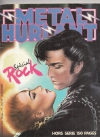 Image for Metal Hurlant no 39: Secial Rock issue.