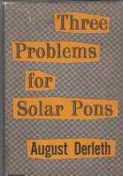 Image for Three Problems For Solar Pons.
