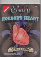 Image for Horror's Heart: A Short Call Of Cthulhu Campaign In Montreal.