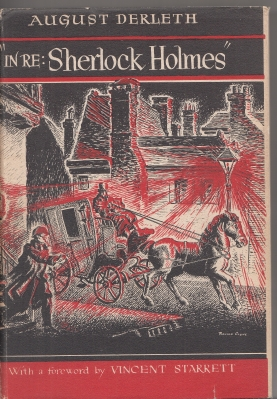 Image for ''In Re: Sherlock Holmes'': The Adventures Of Solar Pons (signed by the author).