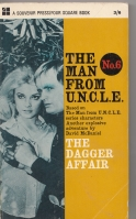 Image for The Man From Uncle no 6: The Dagger Affair (tv tie-in).