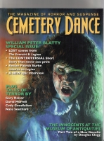 Image for Cemetery Dance no 62: William Peter Blatty Special Issue (signed/hardcover).