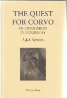 Image for The Quest For Corvo: An Experiment In Biography.