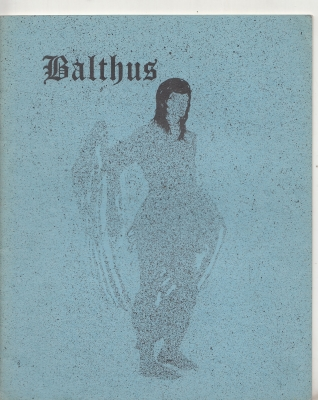 Image for Balthus: Folk-Lore And Fantasy, no 2.
