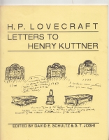 Image for H. P. Lovecraft: Letters To Henry Kuttner.