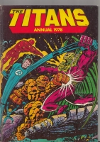 Image for The Titans Annual 1978.