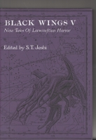 Image for Black Wings V: New Tales Of Lovecraftian Horror (signed/slipcased).