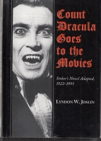 Image for Count Dracula Goes To The Movies: Stoker's Novel Adapted, 1922-1995.