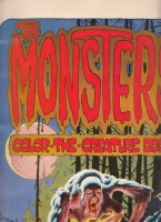 Image for The Monsters Color-the-Creature Book.