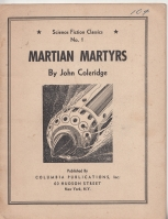 Image for Martian Martyrs (and) Valley of Pretenders (and) The Machine That Thought (and) The New Life (and) The Voice Commands (and) Rhythm Rides The Rocket (Science Fiction Classics: all published).