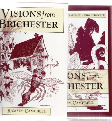 Image for Visions From Brichester (inscribed by the illustrator to Hugh Lamb).