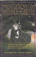 Image for Meditations On Middle-Earth.