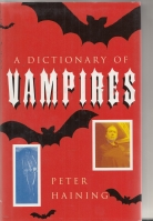 Image for A Dictionary of Vampires (presentation copy to Hugh Lamb).