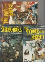 Image for The Seedbearers (and) The Power of the Serpent (and) The Twilight of the Serpent (each inscribed to Hugh Lamb).