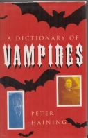 Image for A Dictionary of Vampires.