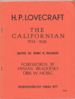 Image for The Californian 1934-1938 (signed/limited).