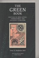 Image for The Green Book, Writings On Irish Gothic, Supernatural And Fantastic Literature Issue 13.
