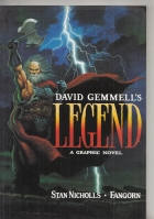 Image for David Gemmell's Legend: The Graphic Novel (signed & dated by Fangorn).