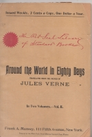 Image for Around The World In Eighty Days - Volume 1.