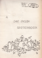 Image for A Dave English Sketchbook (limited/numbered).