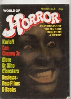 Image for World Of Horror: An Anthology Of The Macabre From Films & Fiction vol 1 no 8.