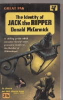 Image for The Identity Of Jack the Ripper.