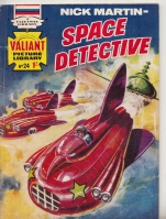 Image for Nick Martin - Space Detective (no 24 + Ron Turner art).