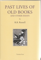 Image for Past Lives Of Old Books And Other Essays (signed by the author).