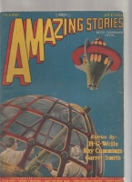 Image for Amazing Stories 1927 October.