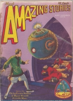 Image for Amazing Stories 1929 March.