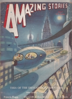 Image for Amazing Stories 1932 July.