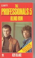Image for The Professionals 5: Blind Run (tv tie-in).