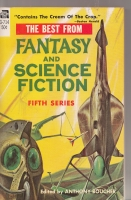 Image for The Best From Fantasy And Science Fiction: Fifth Series.