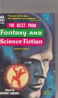 Image for The Best From Fantasy And Science Fiction: Fourth Series.